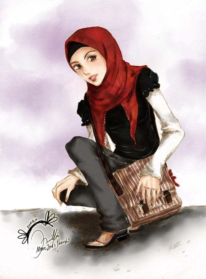 Islamic Anime Muslim Muslimah Images