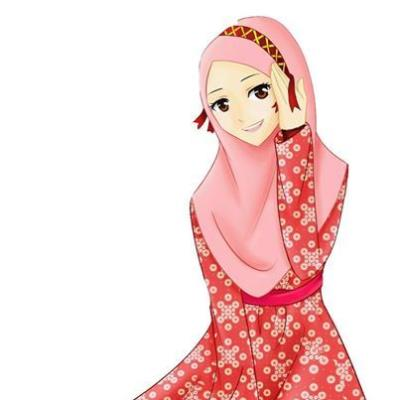 Muslim Girl Pictures Images Photos Anime Muslimah Pencil Drawing
